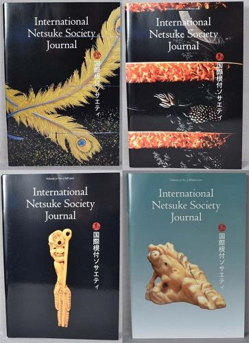 4 issues International Netsuke Society Journal Volume 27, 2007