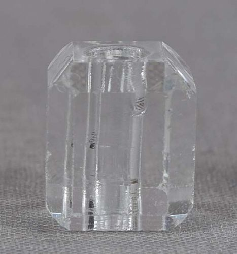19c glass OJIME netsuke cord slide