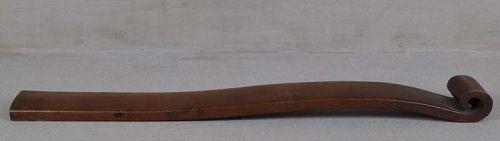 19c Japanese NYOI Buddhist scepter