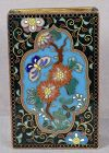 Meiji/Taisho Japanese cloisonne match box holder