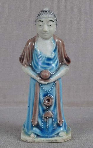 19c Chinese porcelain sculpture MEDICINAL BUDDHA