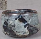 CHAWAN tea bowl NEZUMI SHINO Mt Fuji by Robert Fornell