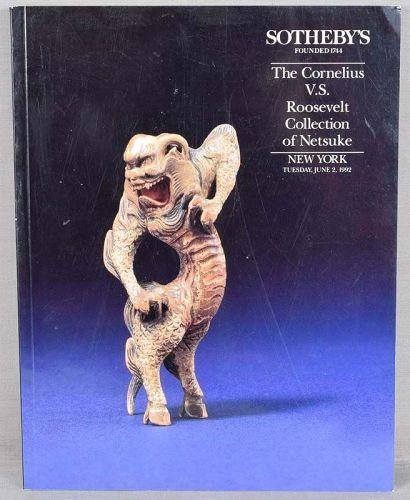 Catalog ROOSEVELT Collection of NETSUKE 1992