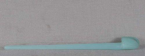 19c Peking glass celadon jade HAIRPIN