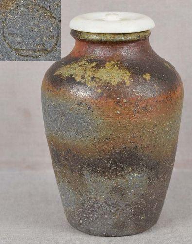 1910s tea ceremony BIZEN CHAIRE marked