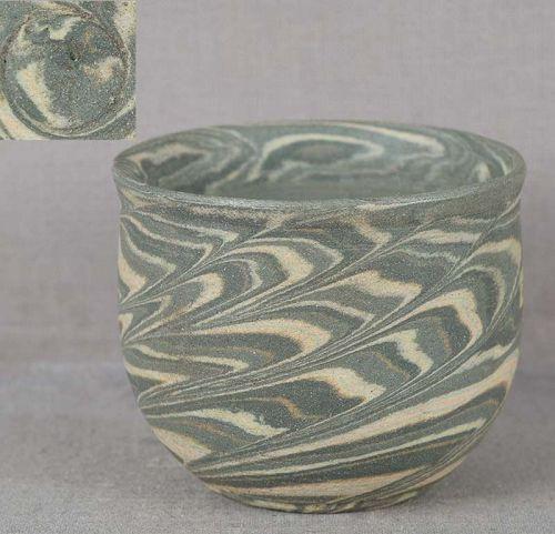 1930s Japanese NERIAGE SAKE CUP marked