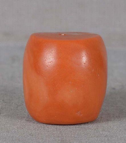 19c Tibetan RED CORAL BEAD 15 grams
