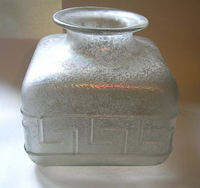 Murano Scavo Vessel by Ermanno Nason for Cenedese 1970