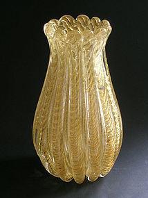 Cordonato Oro Vase by Ercole Barovier