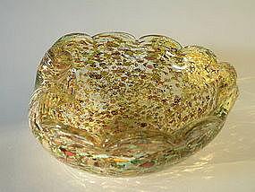 Vintage Murano Shell Bowl