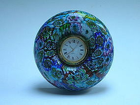 Vintage Murrine Clock