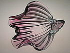 Murano Glass Shell Sculpture by  Archimede Seguso