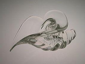 Vintage Murano sea form sculpture by Licio Zanetti