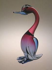 Vintage Murano  Waterbird attr. to  Seguso or Barbini