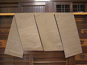 Japanese Silk Obi Taisho Period Circa 1925