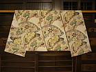 Japanese Silk Obei Taisho Period Circa 1925