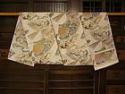 Japanese Silk Obie Taisho Period Circa 1925