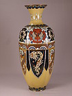 Japanese Cloisonne Hexagon Vase Circe 1900