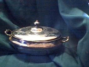 Wm Rogers Covered Serving Dish