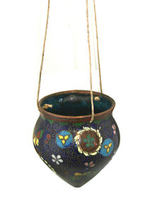 Cloisonne Incense Burner