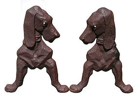 Dog Andirons