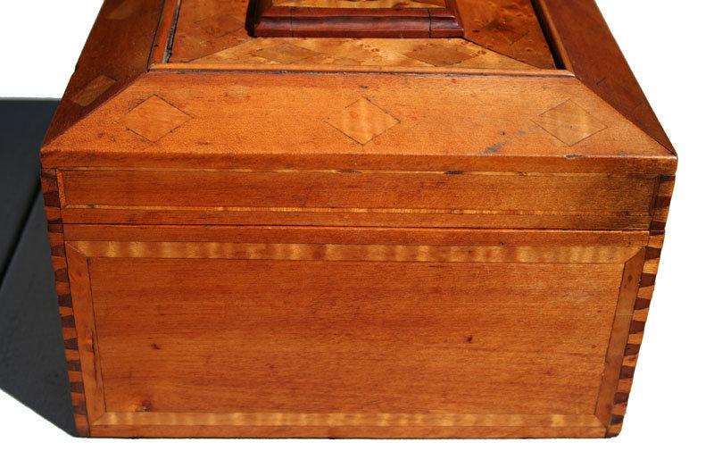 Bird's Eye Maple Sailor's Box