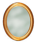 Oval Gold Leaf Frame