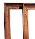 Mid-Century Modern Wormy Chestnut Picture Frames