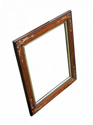 Antique Walnut Picture Frame