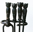 Owl Fireplace Tools
