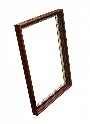 Large Antique Walnut Picture Frame
