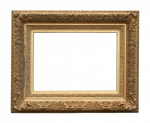 Antique Barbizon Style Gilt Frame