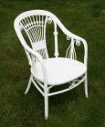 Antique Wicker Arm Chair