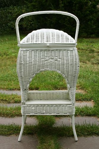 Antique Wicker Stand