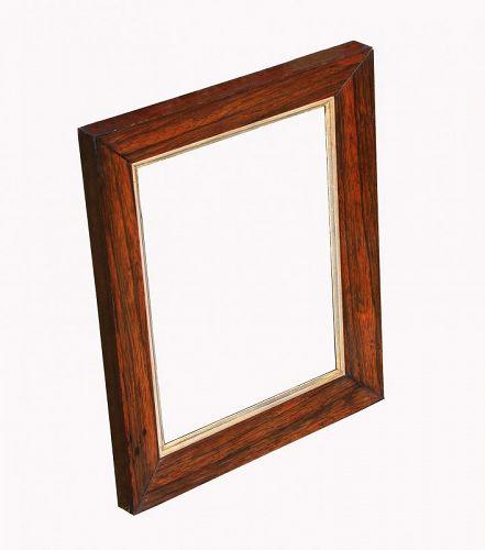 Antique Rosewood Frame, Gilded Fillet, Circa 1840