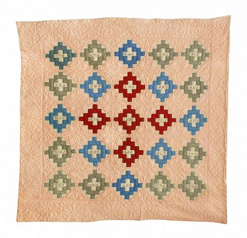 Antique Friendship Quilt