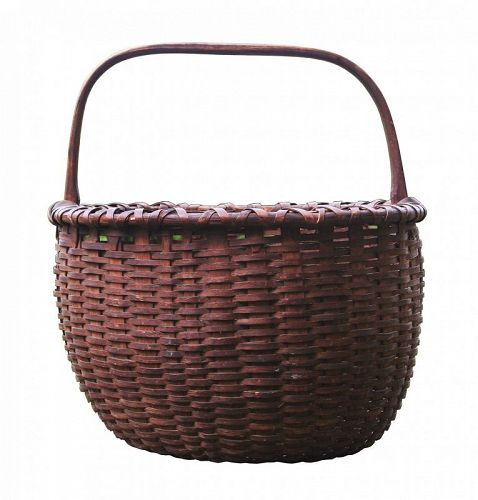 Antique Basket, Large, Produce basket, Exceptional