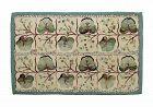 Vintage Hand Hooked Rug, Wool on Burlap, Pearl Mc Gowan Design #534