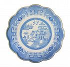 """Extra Large Blue Willow, Copeland Spode Charger or Platter 21 1/2"""""""