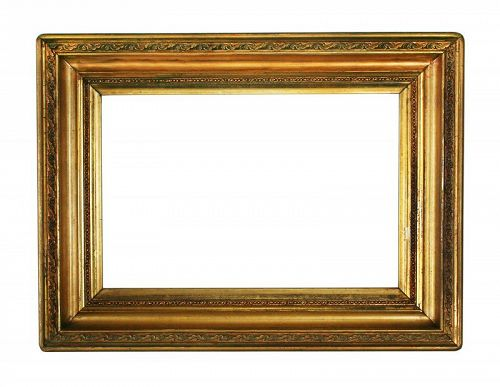 """Antique Gold/Gilt Picture Frame Holds 8"""" X 12"""""""