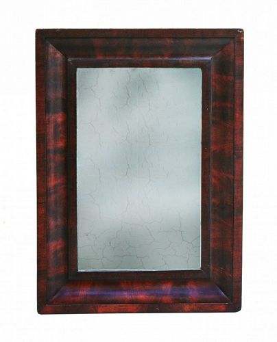 Mahogany Ogee Mirror, Circa 1830-1840,