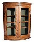 Convex Hanging Corner Cabinet