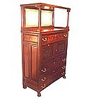 Herter Bros. Aesthetic Movement Cabinet