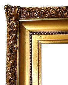Gilded Molded Gesso Frame