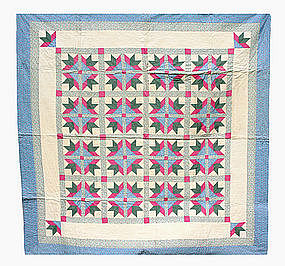 "Quilt ""Fancy Flowers"""