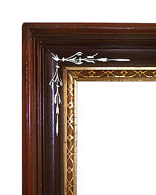 Antique Walnut Frame