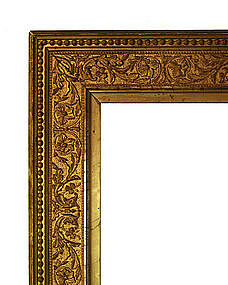 Antique Gold Leaf Picture Frame