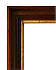 Antique Walnut Picture Frame