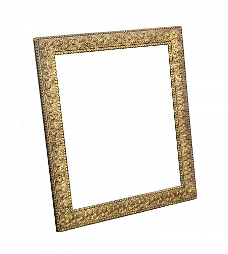 Antique Gilded Picture Frame