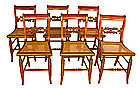 Tiger Maple Chairs